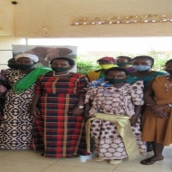 Community empowerment meeting on women and youth land rights amidst land acquisition processes for the EACOP project